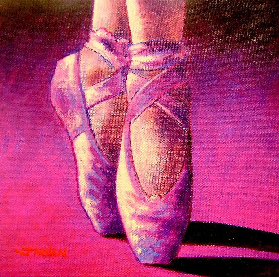 Ballet Painting - Ballet Shoes  II by John  Nolan