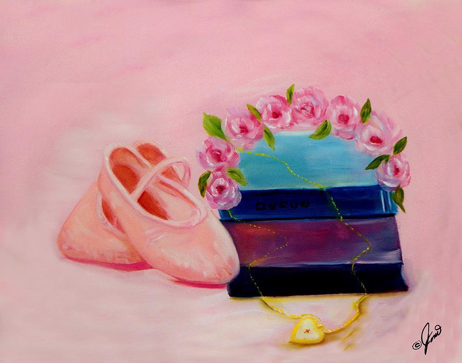 Ballet Painting - Ballet Still Life by Joni McPherson
