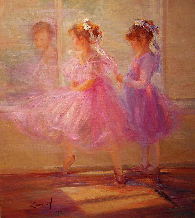 Ballet Time Painting