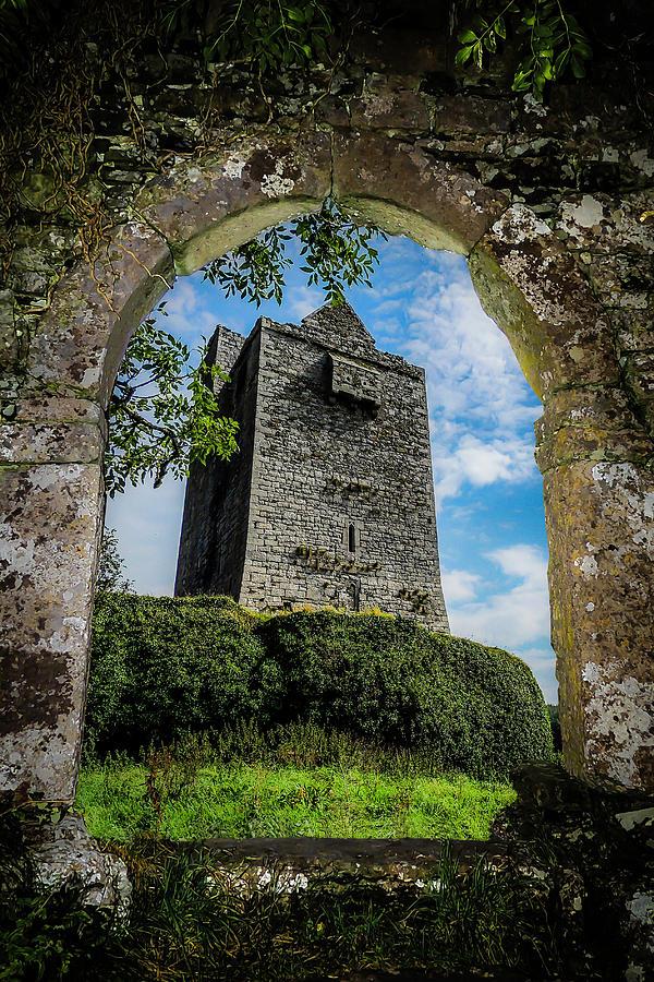 Ireland Photograph - Ballinalacken Castle In County Clare, Ireland by James Truett