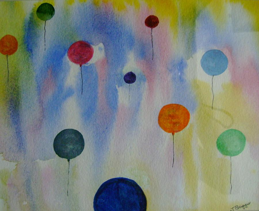 Ballons Painting - Ballons by Dottie Briggs
