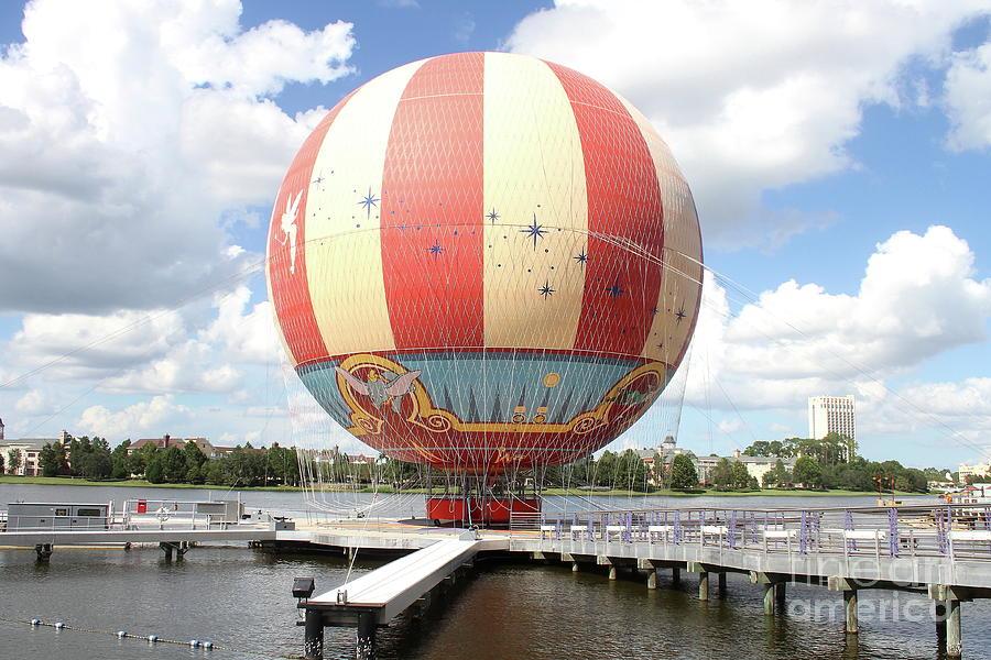 Balloon At Disney Springs by Ken Keener