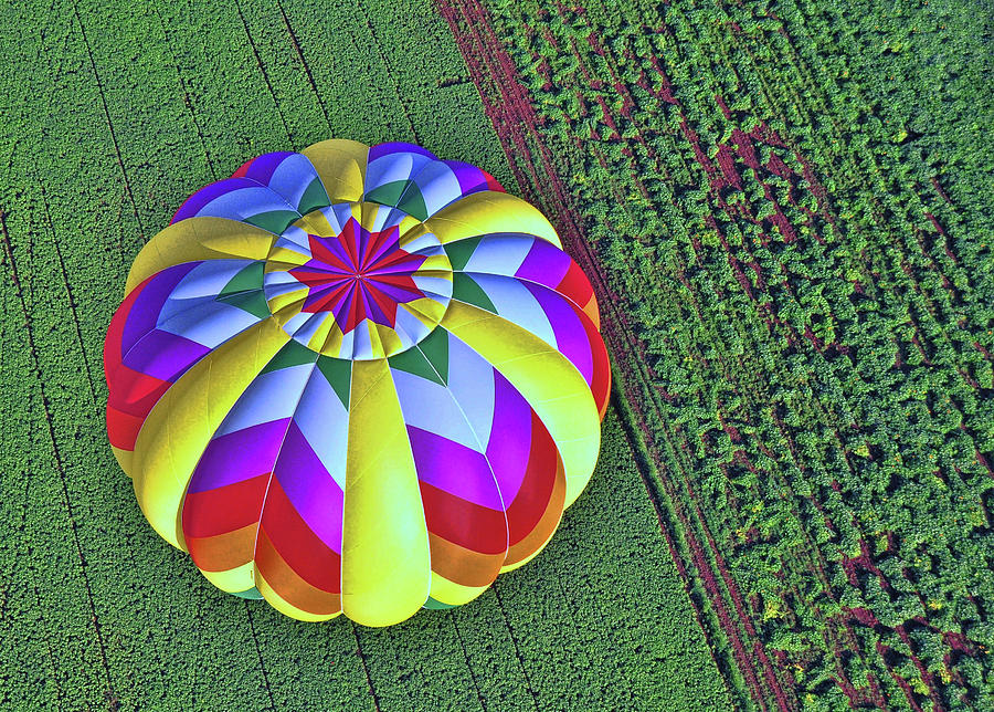 Colors Photograph - Balloon Fantasy 12 by Allen Beatty