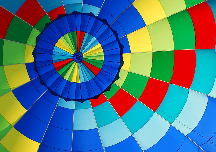 Colors Photograph - Balloon Fantasy 8 by Allen Beatty