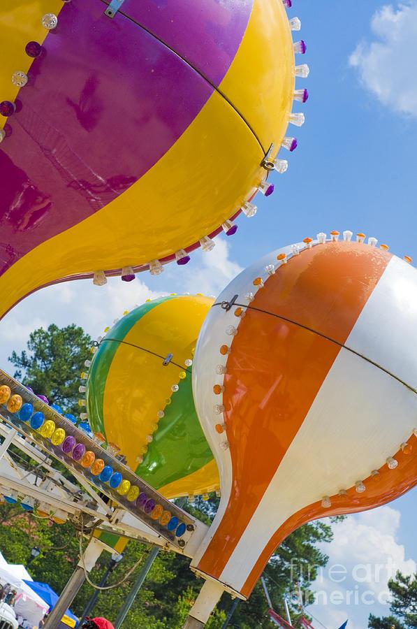 Balloons Photograph - Balloon Fun by Maureen Norcross