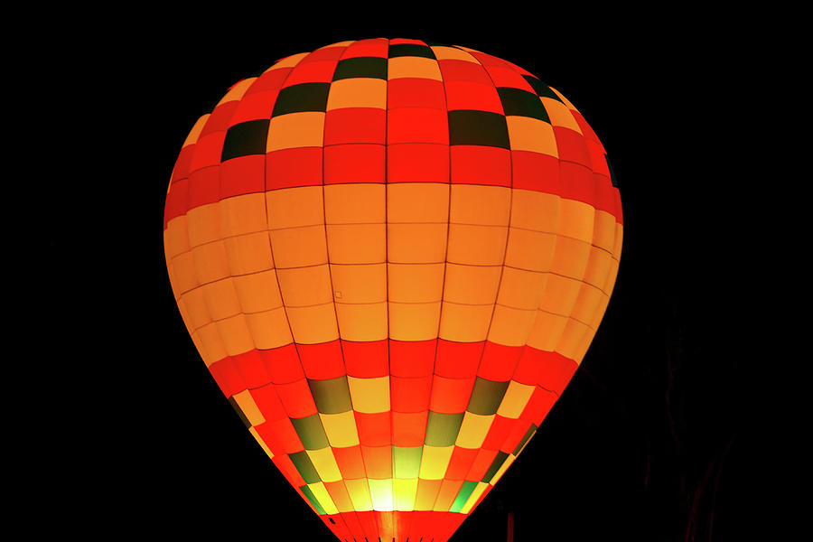 Balloon Photograph - Balloon Glow 1 by Lone Dakota Photography