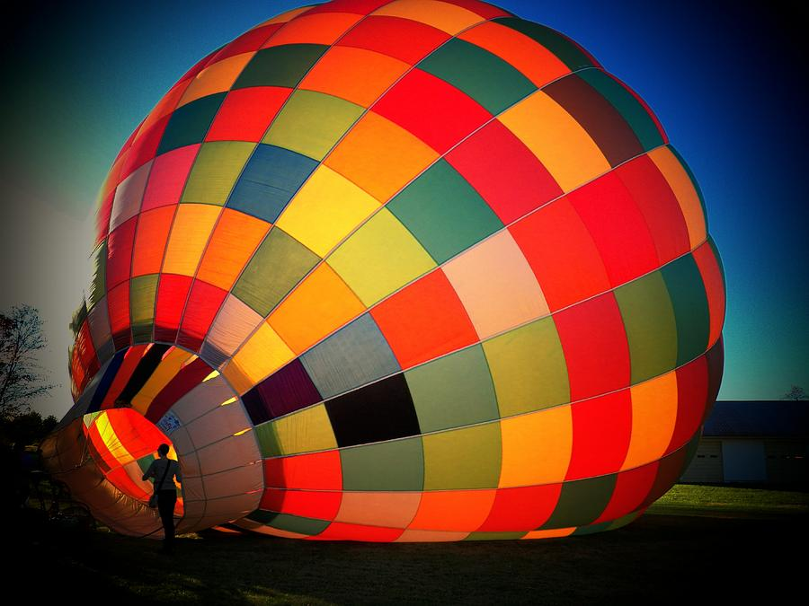 Hot Air Balloon Photograph - Balloon by Joyce Kimble Smith