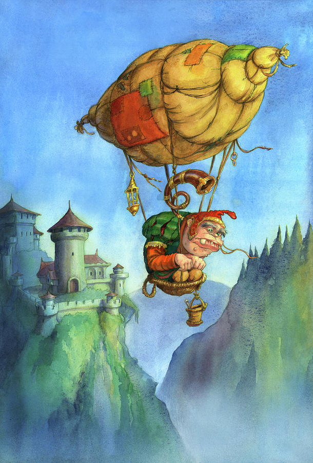 Balloon ogre by Andy Catling