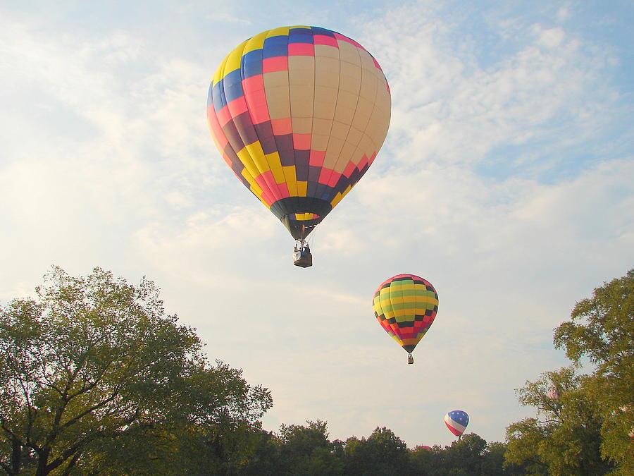 Balloon Race Photograph by Luciana Seymour