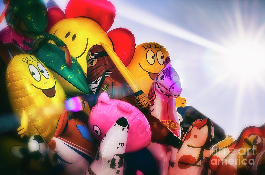 Balloons Photograph - Balloons by Alessandro Giorgi Art Photography
