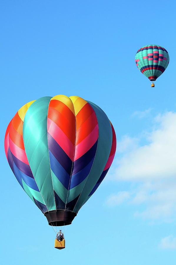 Ballons Photograph - Balloons by Linda Cupps