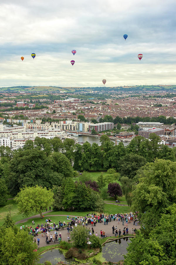 Balloons over Bristol UK by Paul Hennell