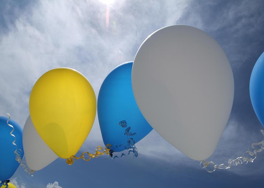 Balloons Photograph - Balloons by Patrick M Lynch