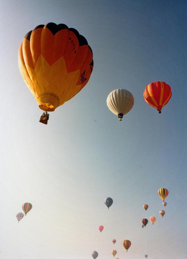 Balloons Photograph - Balloons by Russ Mullen