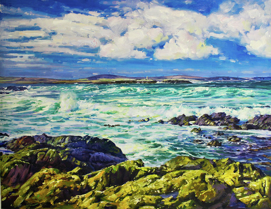 Ballyglass Lighthouse, Wild Atlantic Way by Conor McGuire
