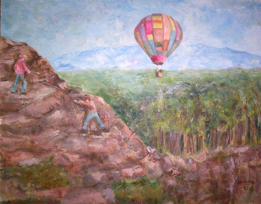 Baloon Painting by Joseph Sandora Jr