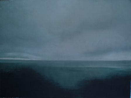 Landscape Painting - Baltic by Krystyna Suchwallo
