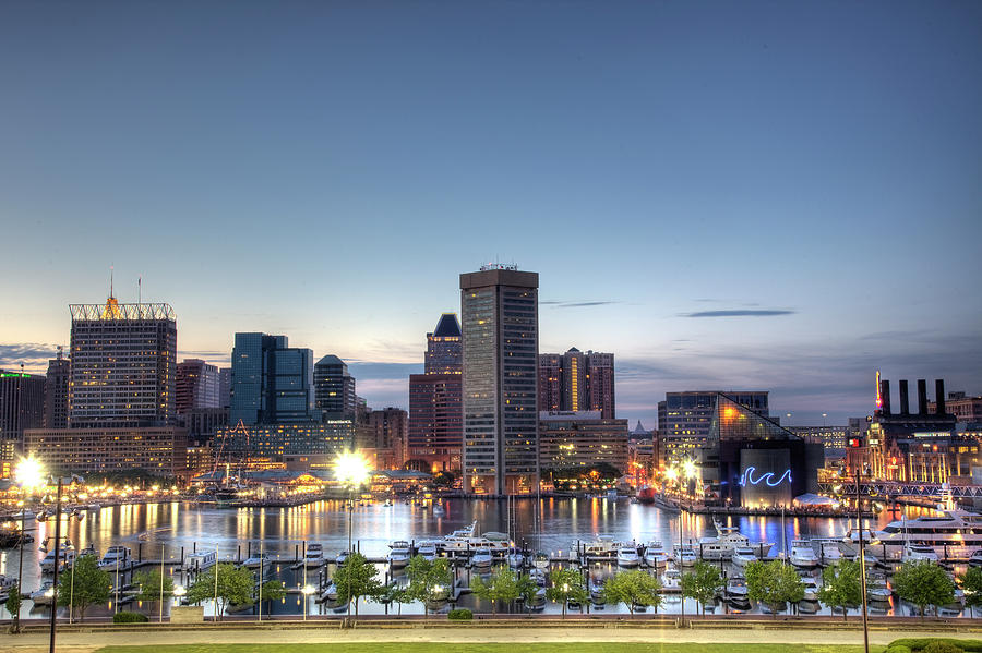 Baltimore Photograph - Baltimore Harbor by Shawn Everhart
