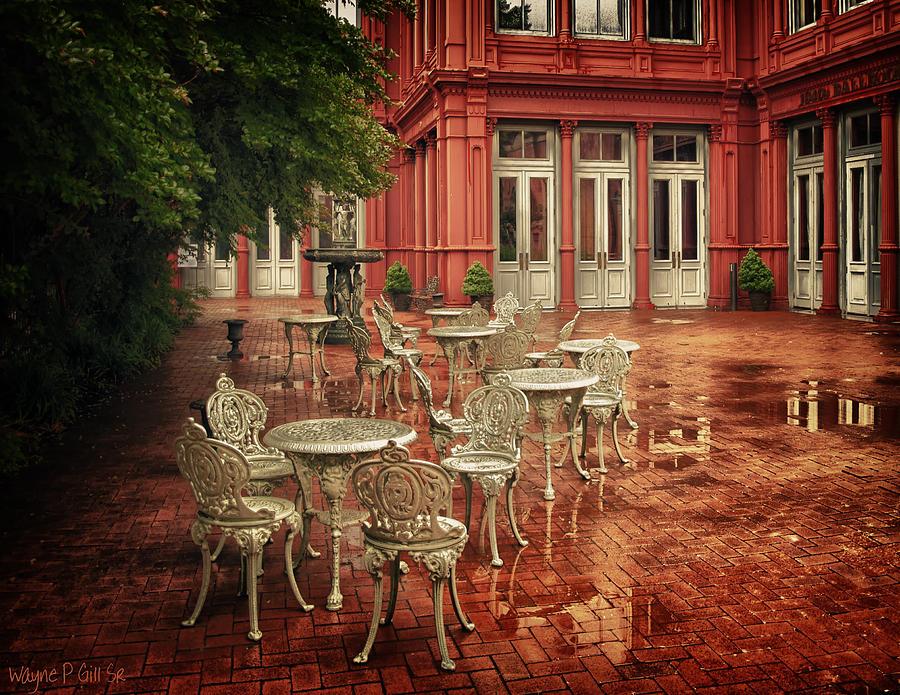 Baltimore Photograph - Baltimore Rain by Wayne Gill