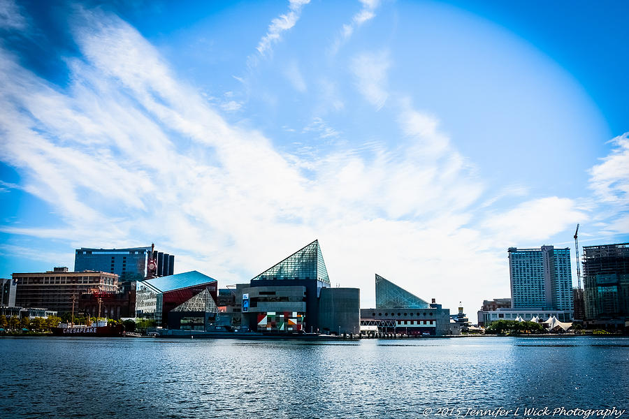 Baltimores Inner Harbor Photograph