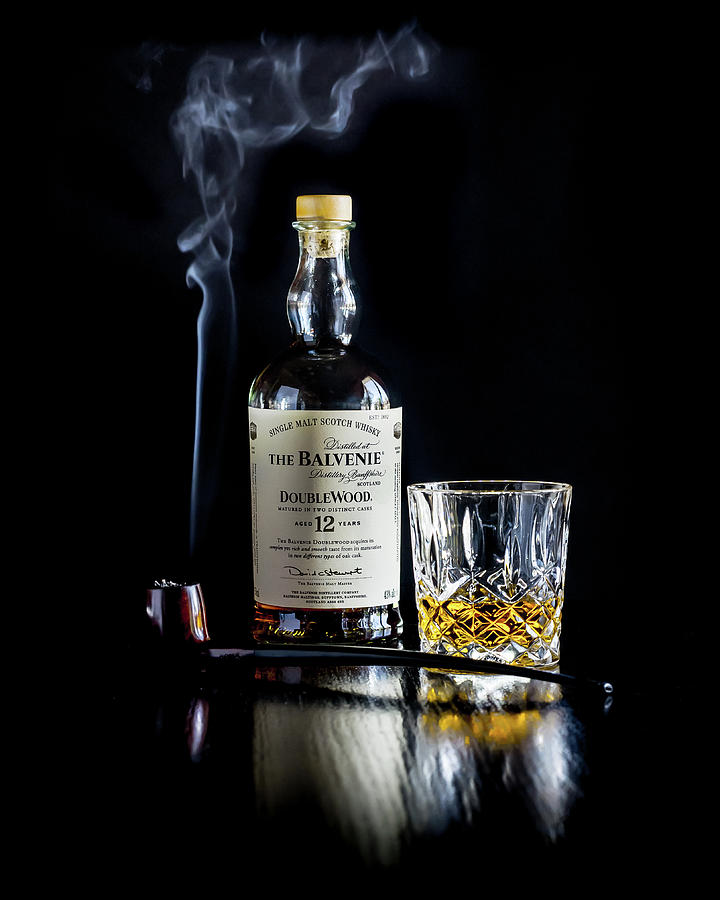 Balvenie and pipe by Adam Reinhart