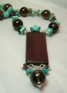 Bamboo And Turquoise Jewelry by Donna  Phitides