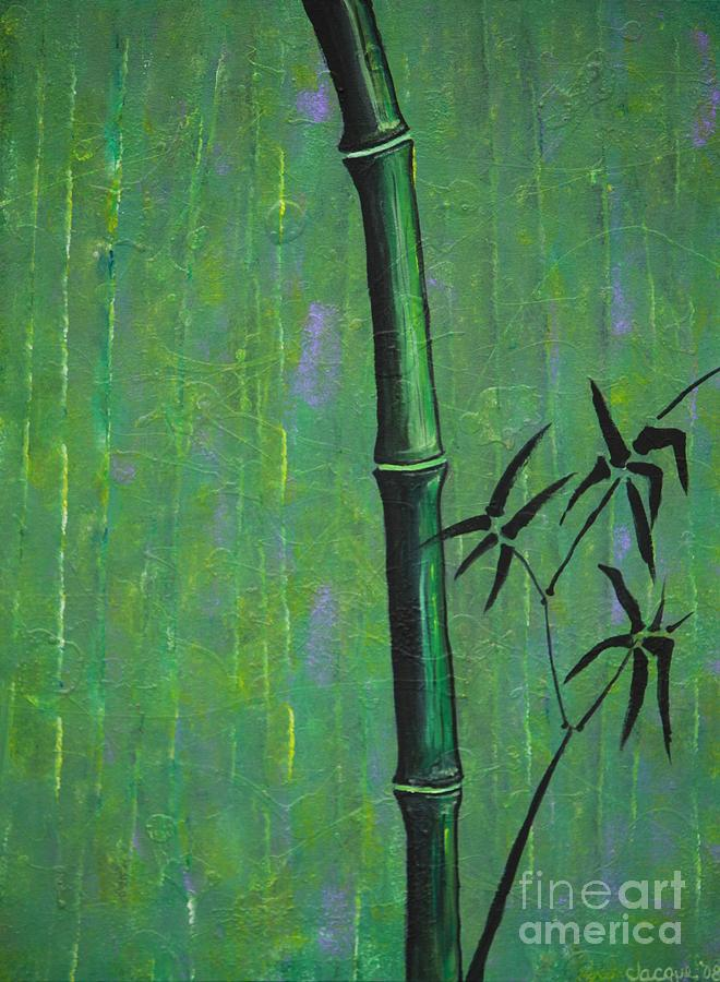Bamboo Painting - Bamboo by Jacqueline Athmann