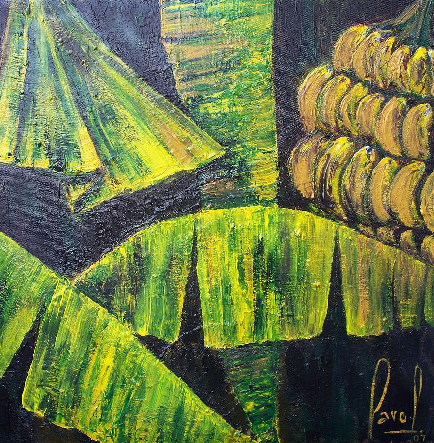 Bananas Painting by Carol P Kingsley
