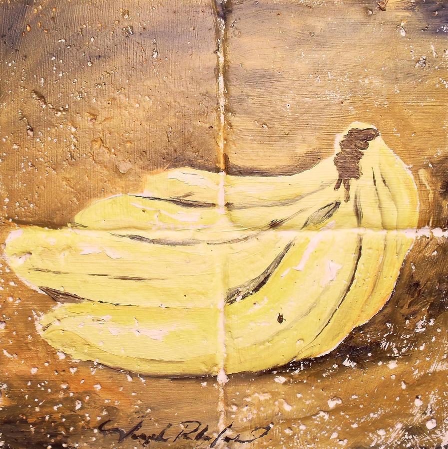 Bananas Painting - Bananas by Joseph Palotas