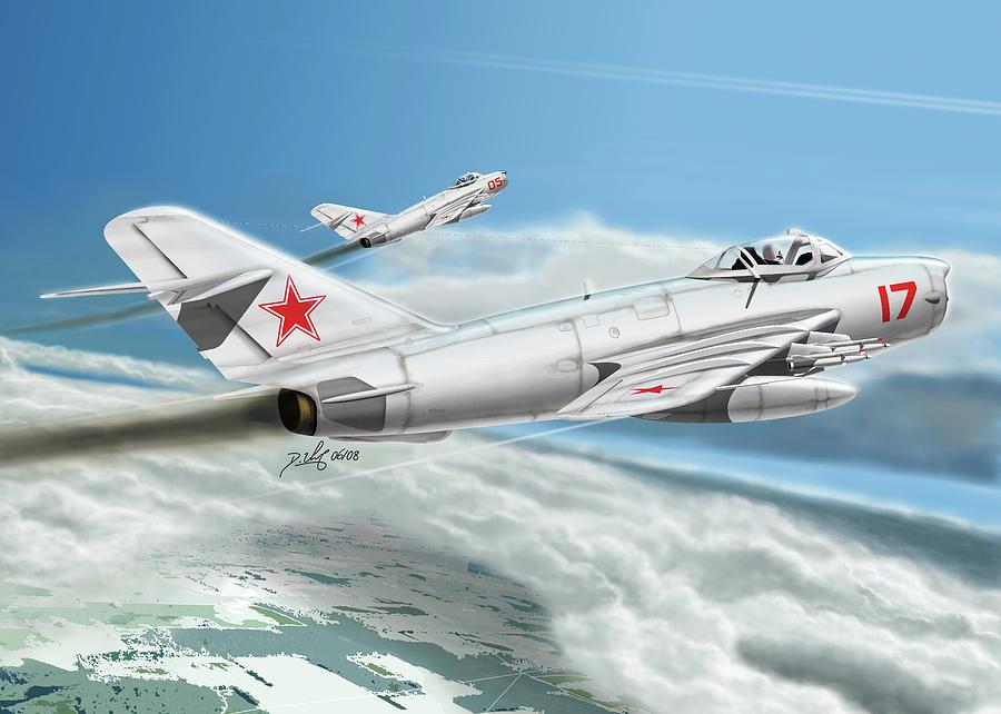 Aircraft Digital Art - Bandits by Daniel Uhr