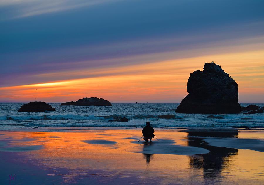 Bandon Photograph - Bandon Sunset Photographer by Michele Avanti