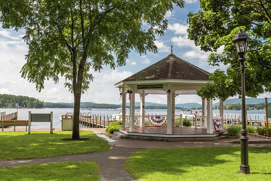 Bandstand Photograph - Bandstand by Debbie Gracy