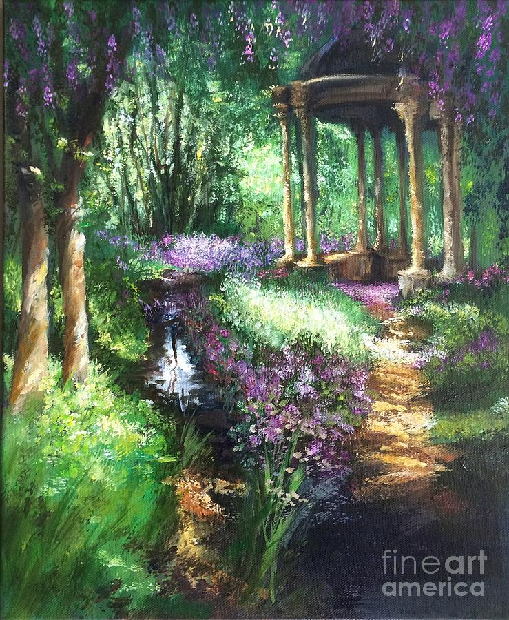 Bandstand In The Park Painting