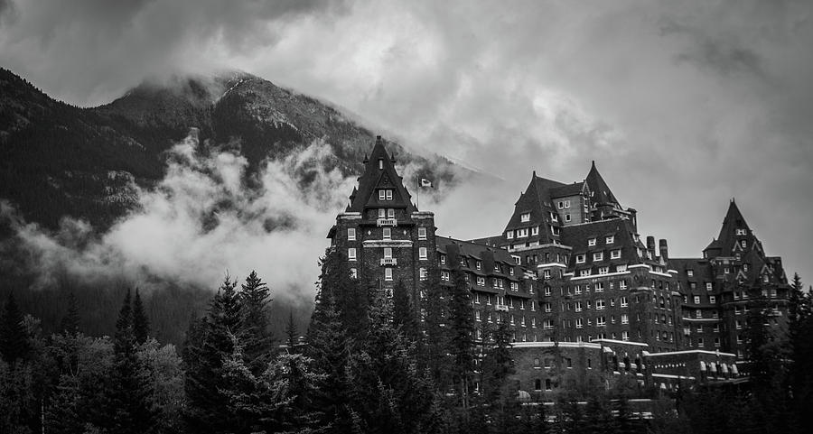 Banff Photograph - Banff Fairmont Springs Hotel by Alex Rossi