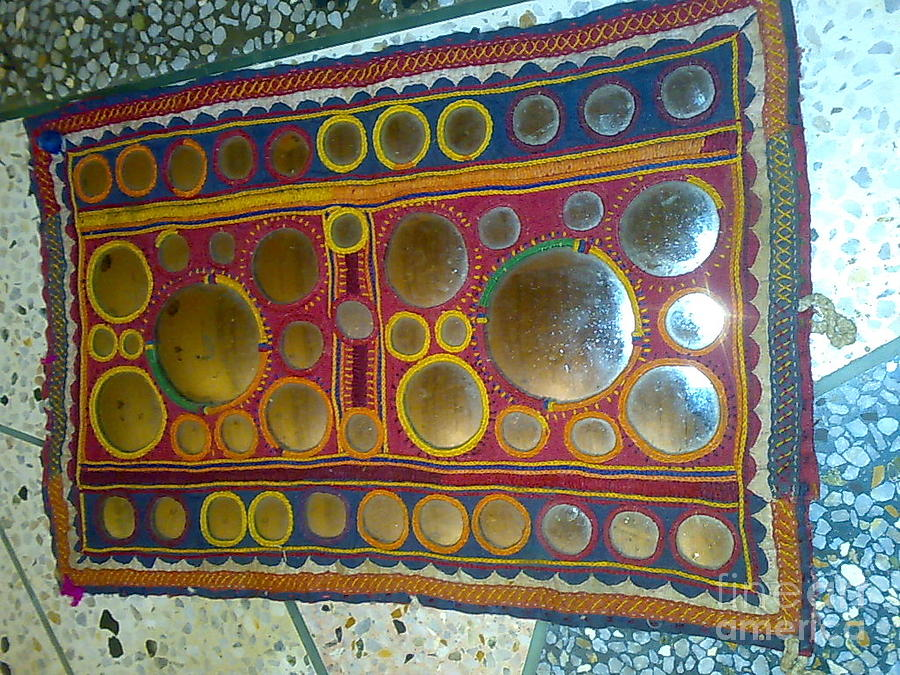 Banjara Patchwork Piece Tapestry - Textile by Dinesh Rathi