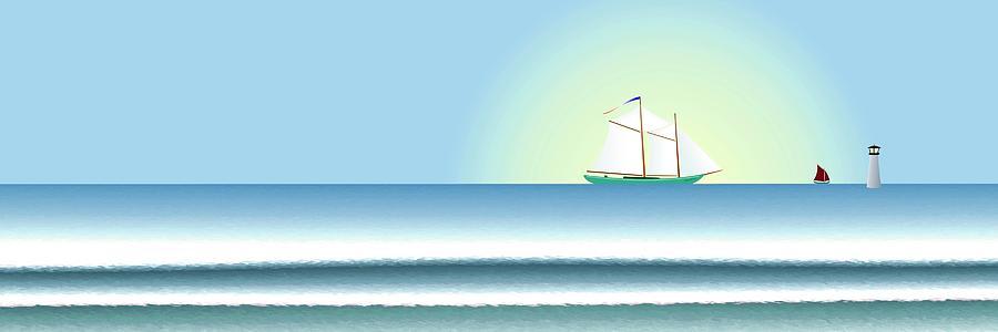 Banner Digital Art - Banner by Steve Smyth