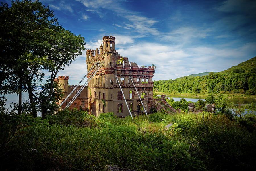 Bannerman Castle on Pollepel Island by John Morzen