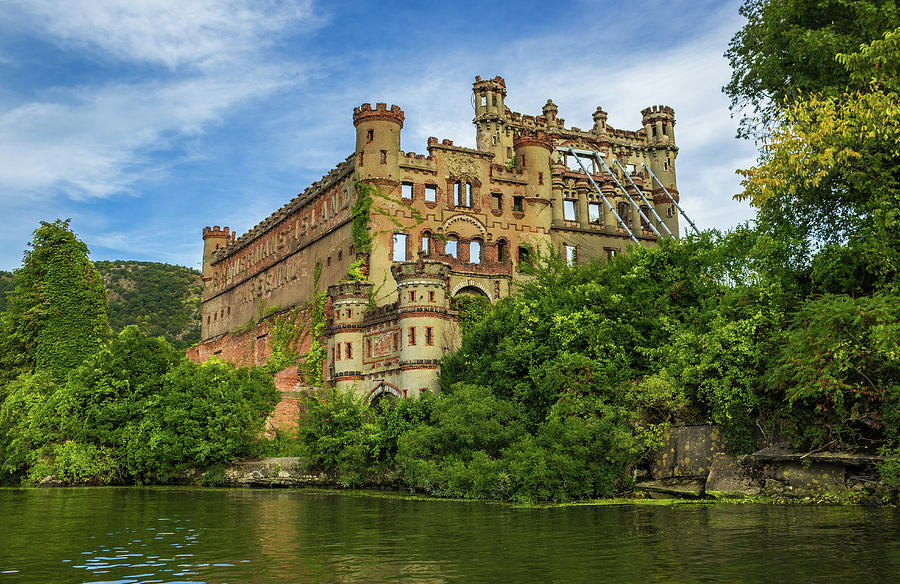 Bannerman Castle on the Hudson River by John Morzen