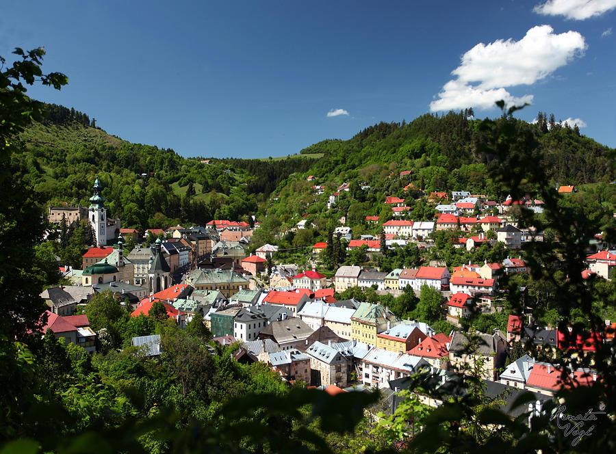 Slovakia Pastel - Banska Stiavnica by Renata Vogl