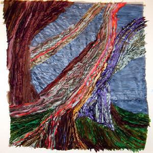 Banyan Tree Tapestry - Textile by L Susan Stark