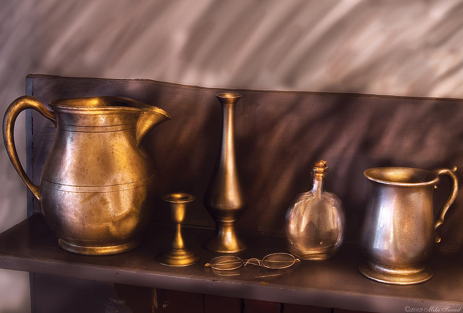 Savad Photograph - Bar - Ready For A Drink by Mike Savad
