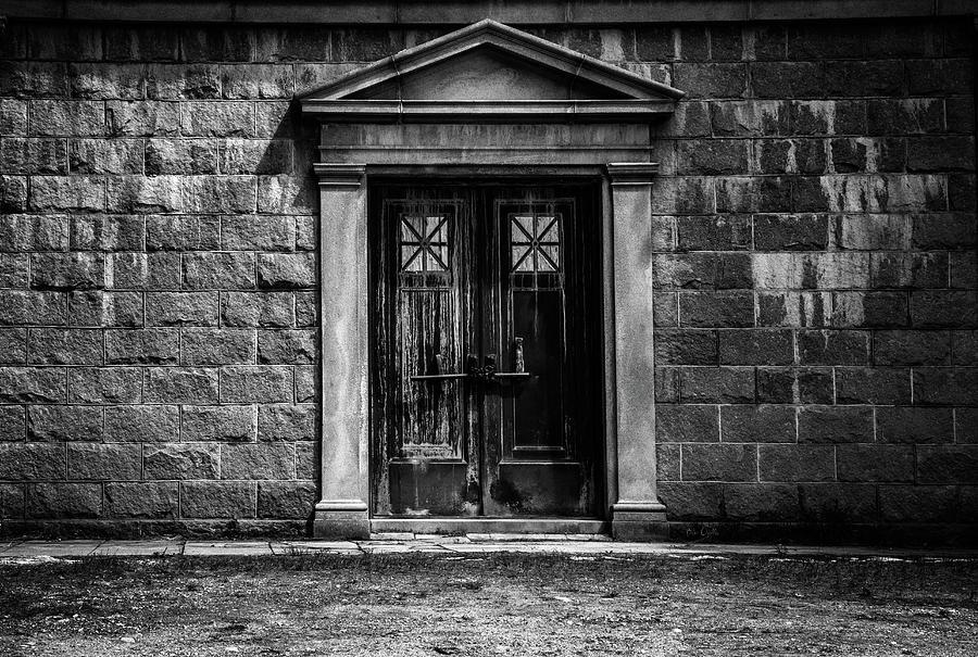 Dreamscape Photograph - Bar Across The Door by Bob Orsillo
