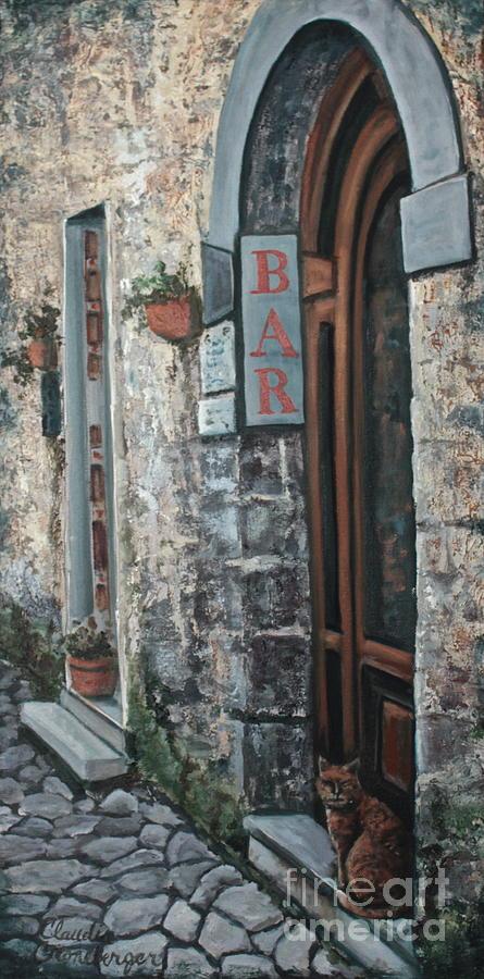 Bar Painting - BAR by Claudia Croneberger