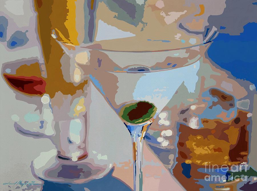 Bars Painting - Bar Drinks by David Lloyd Glover