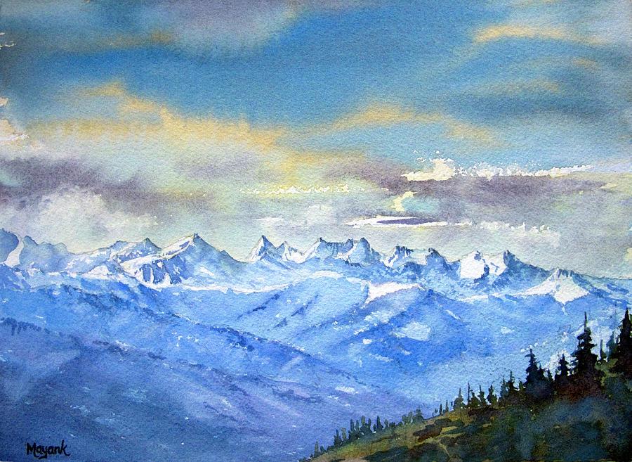 Bara Bangal Range by Mayank M M Reid