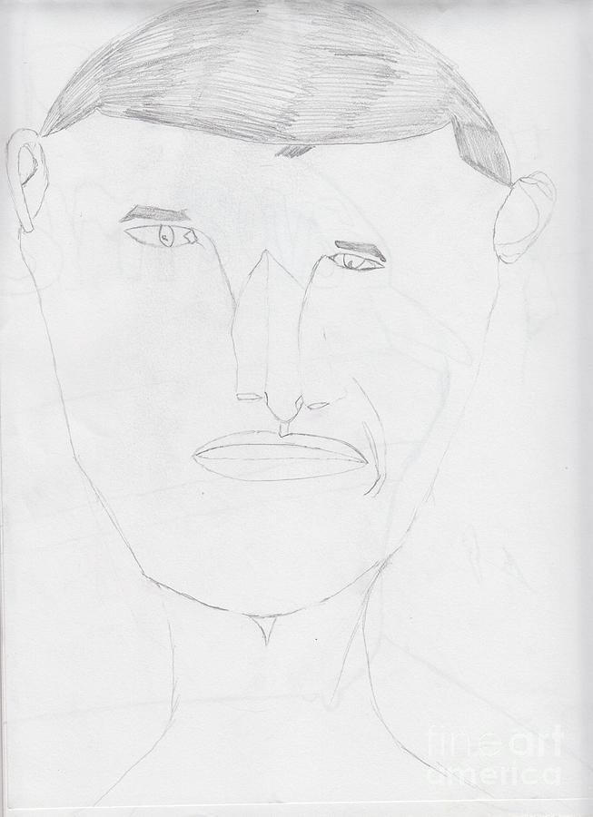 President Drawing - Barack Obama by Temitope Owosela