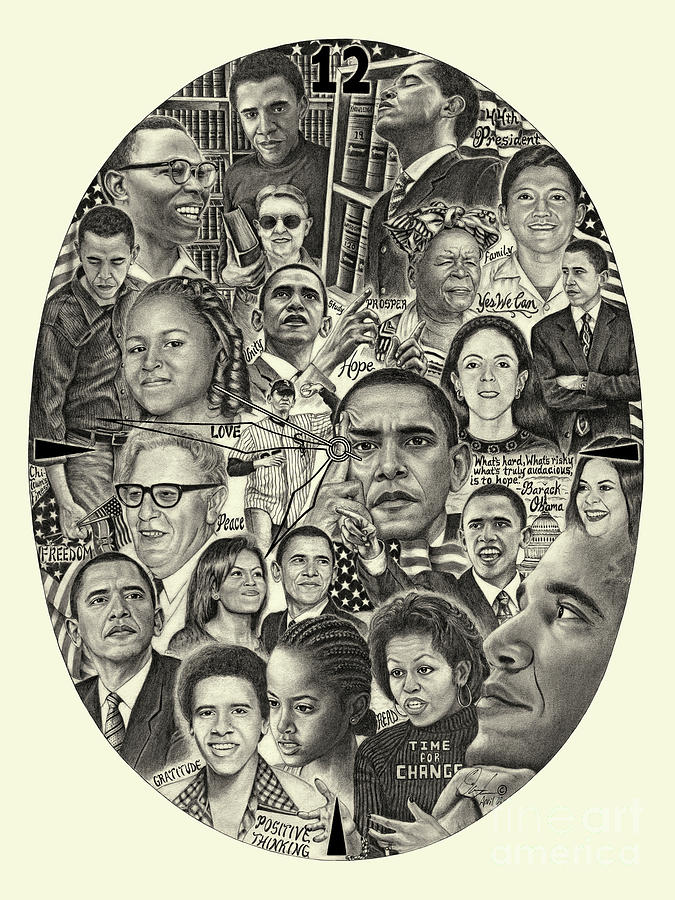 Barack Obama- Time For Change by Omoro Rahim
