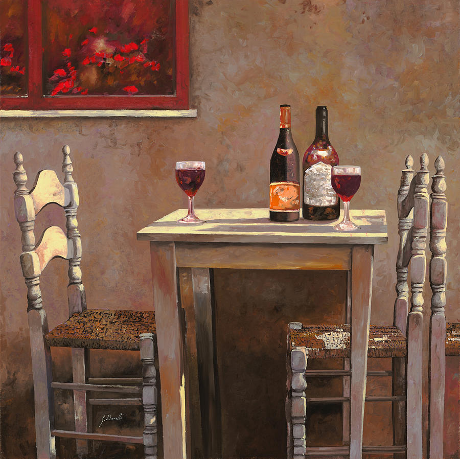 Wine Painting - Barbaresco by Guido Borelli