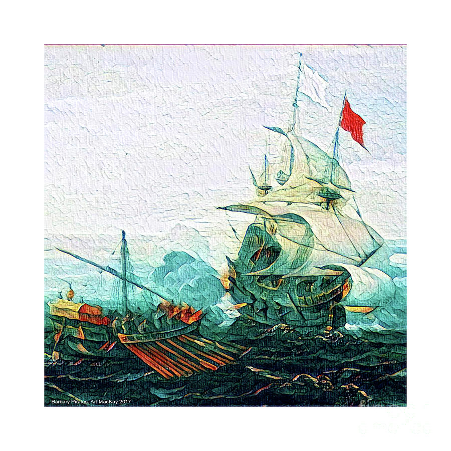 Barbary Pirates by Art MacKay