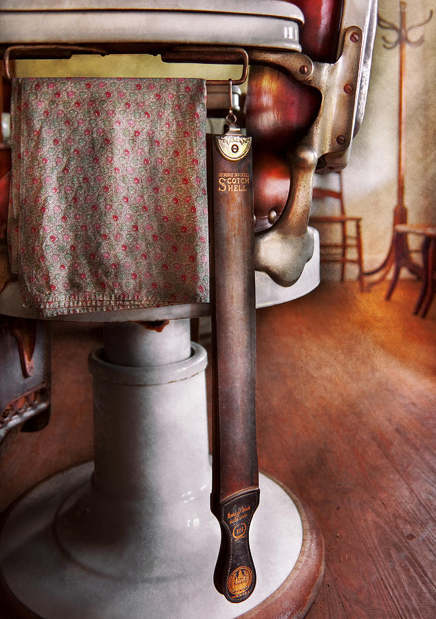 Savad Photograph - Barber - The Strop by Mike Savad